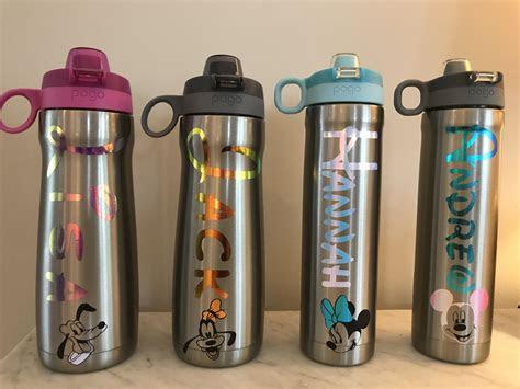 pin  lisa gouger  craft ideas disney water bottle