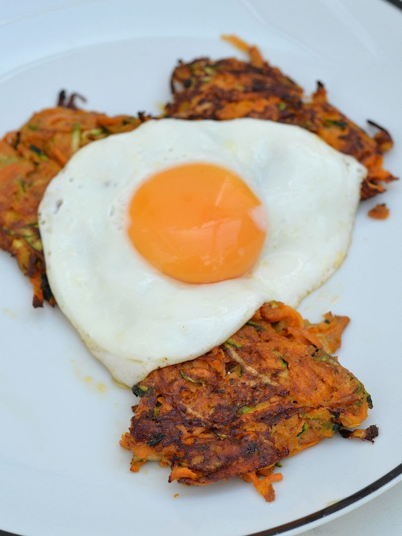 Sweet Potato & Courgette Fritters