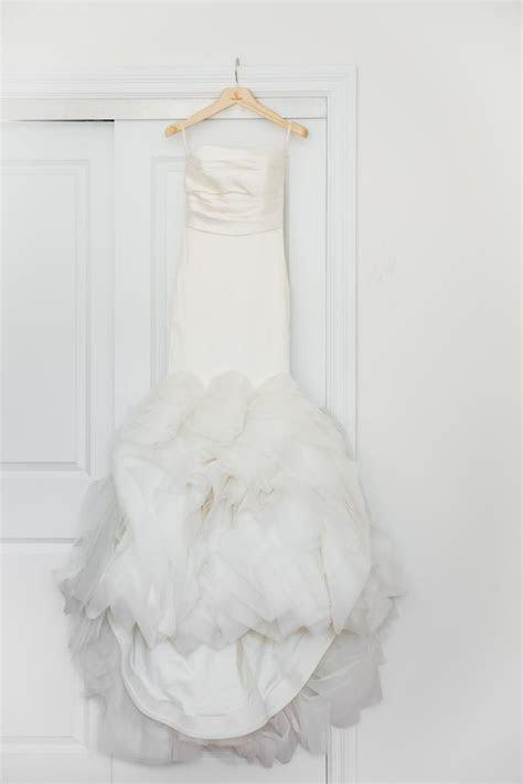 Vera Wang Ivory Mikado Silk / Organza Ethel Wedding Dress