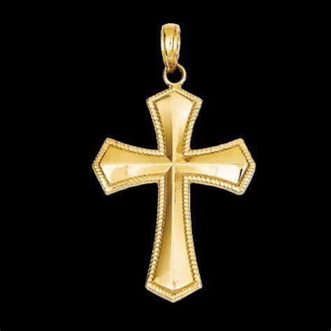 Beautiful Fleur de lis Cross Pendant ? Gracious Rose