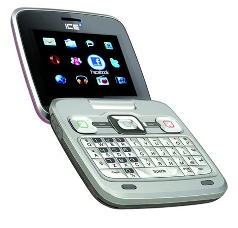alcatel ice qwerty flip phone