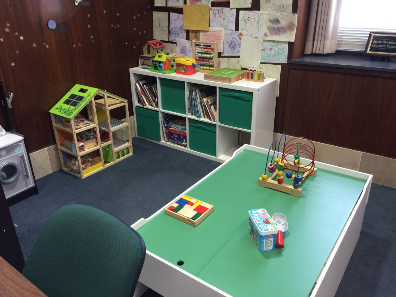Safe Families Office Childrens Corner Receives Makeover Avlf