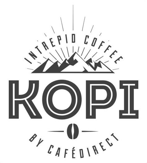 kopi coffee logo design identity branding logos