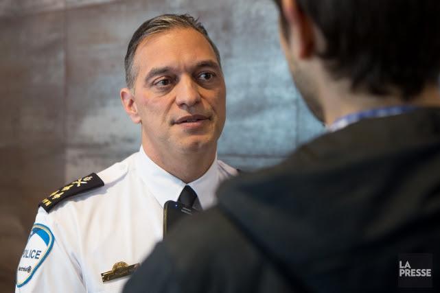 Le directeur du SPVM, Philippe Pichet.... (PHOTO SIMON GIROUX, LA PRESSE)
