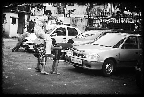 As Indians We Love To Ride On Other Peoples Back.. A Childish Trait by firoze shakir photographerno1