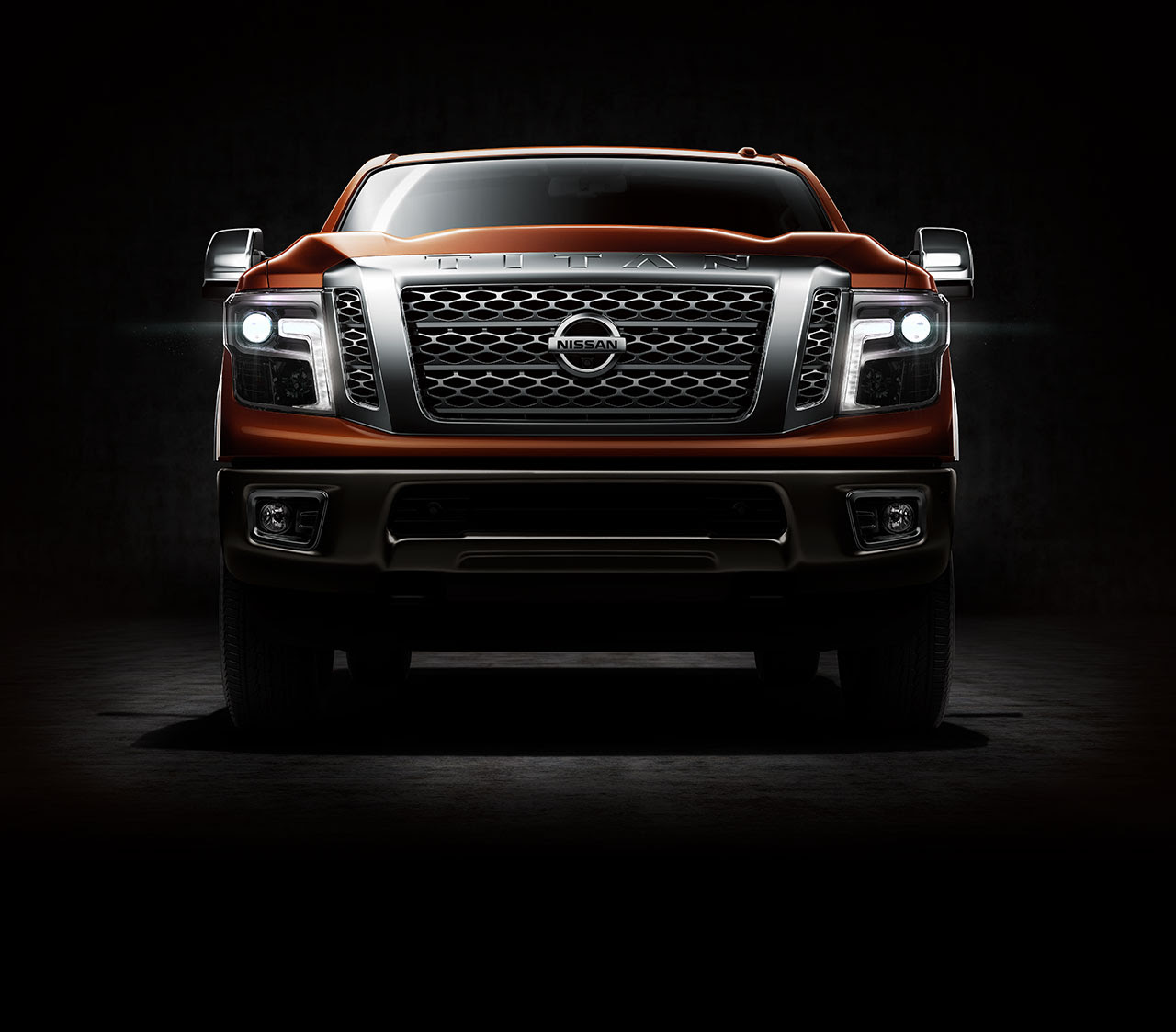 All New Nissan Titan XD 2016 front view main image
