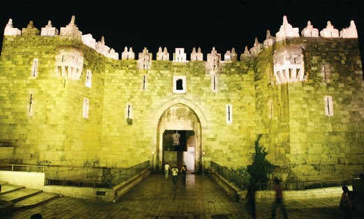 Jerusalem Light Festival, Damascus Gate