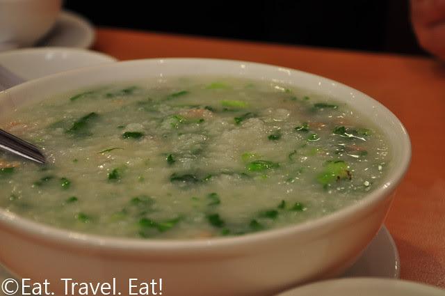 Vegetable and Pork Porridge
