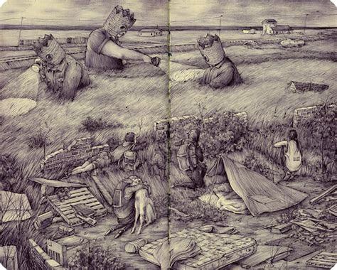 awe inspiring  sketchbook spreads  drawings  pat