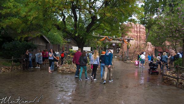 Disneyland Resort, Disneyland, Frontierland, Smoke, Smoking, Section, Makeshift, Big, Thunder, Ranch, Jamboree