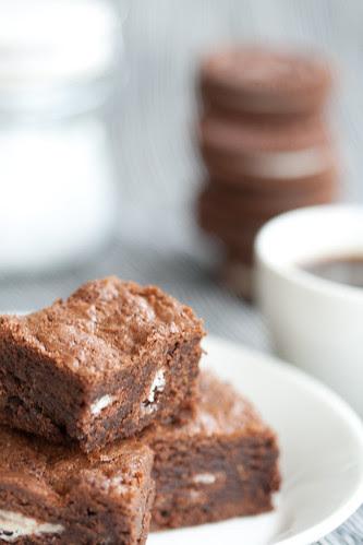 Domino brownie / Oreo brownie