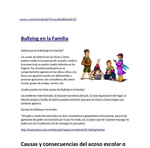 Ejemplos De Casos De Bullying Escolar Cortos Colección De Ejemplo