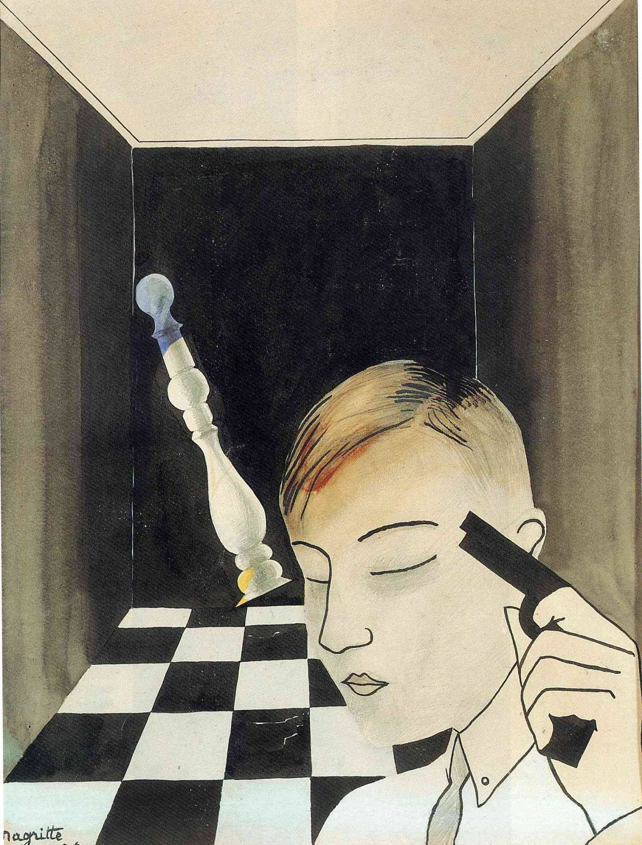 Checkmate, 1926Rene Magritte