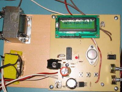 Kích thích cơ điện tử với PIC16F84 Tens Circuit