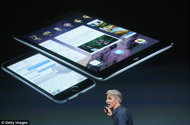 The new iPad would dwarf Apple's existing range of machines.