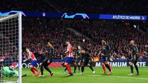 VIDEO: Atletico Madrid 1:0 Liverpool / Champions Laegue