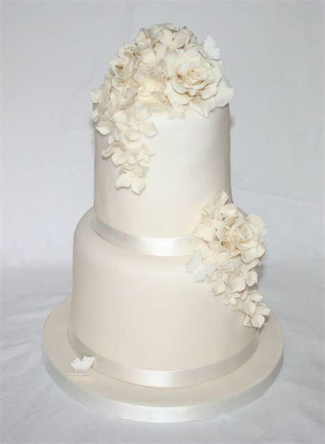 Simple 2 tier wedding cake designs   idea in 2017   Bella