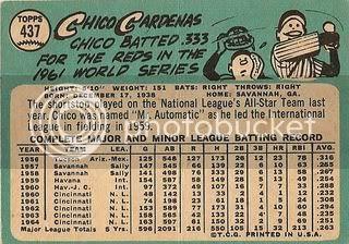 #437 Chico Cardenas (back)