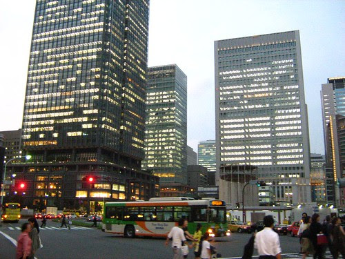 On the way to Otemachi station