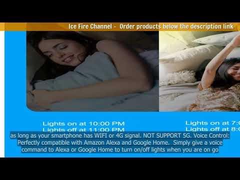 Smart Wifi Light Switch 433MHz RF Wall Switch Tuya/Smart Life App with A...