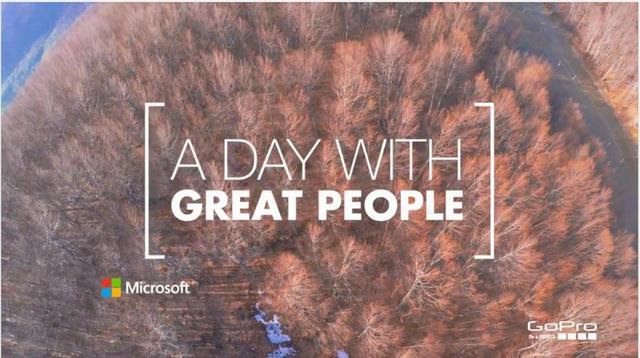 A Day with Great People, η νέα καμπάνια της Microsoft Ελλάς
