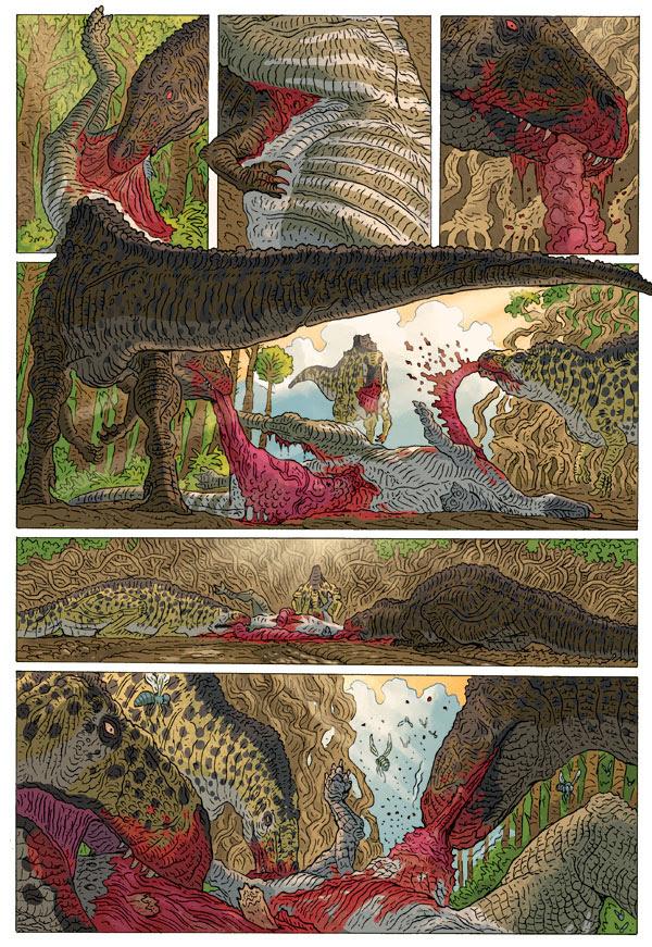 Age Of Reptiles Returns Blog Dark Horse Comics