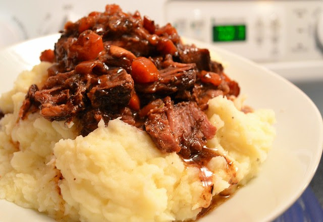 Slow Cooked Beef Shanks