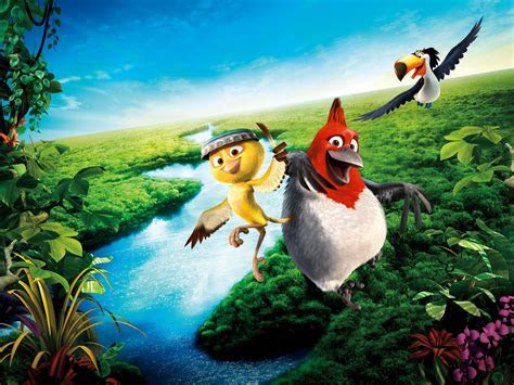 Rio 2 Animation, Adventure, Comedy widescreen wallpaper