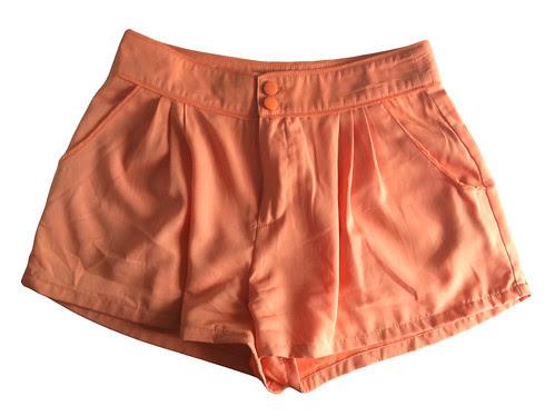 H&M Creamsickle Shorts
