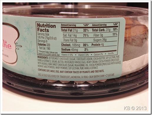 Review: Trader Joe's Flourless Chocolate Cake - Celiac Disease