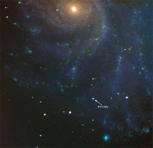 Supernova PTF 11kly