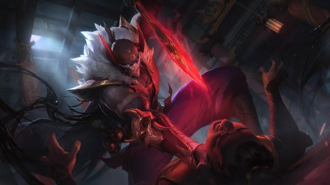 Wallpaper Blood Moon Pyke Artwork League Of Legends Lol