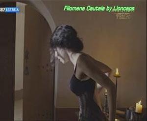 Filomena Cautela sensual em vários trabalhos