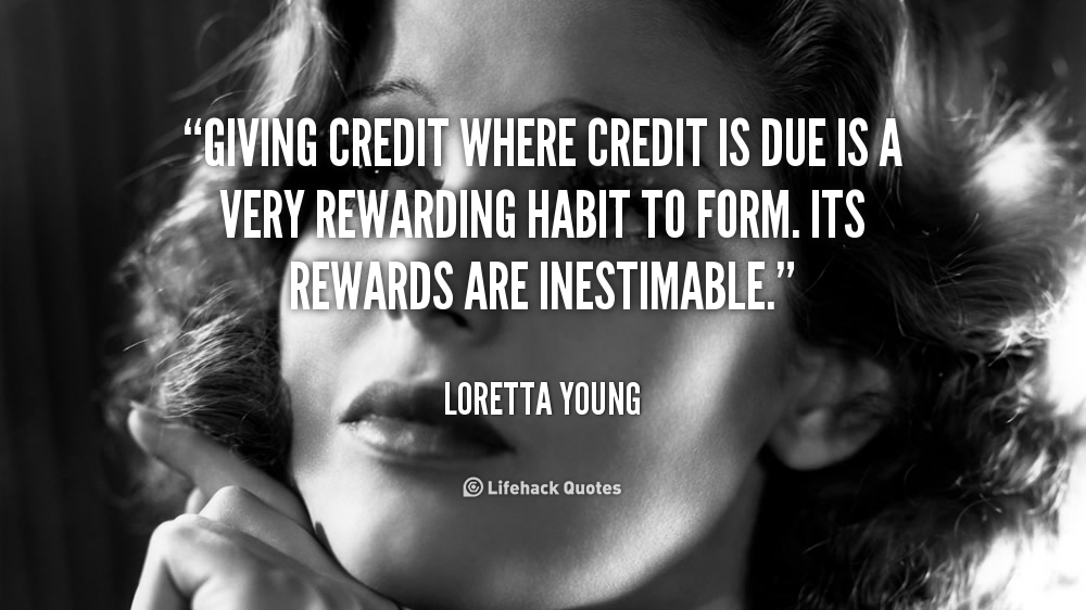Quotes About Credit 540 Quotes
