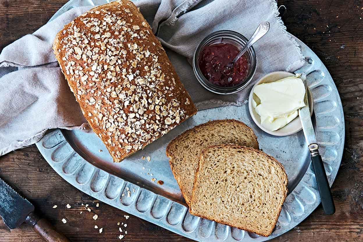 Honey Oatmeal Bread Recipe | King Arthur Flour