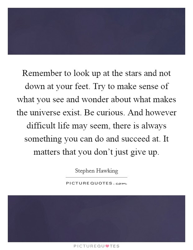 Looking Up At The Stars Quotes 82625 Usbdata