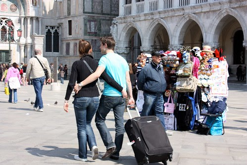 Cute couple of the day in Venice