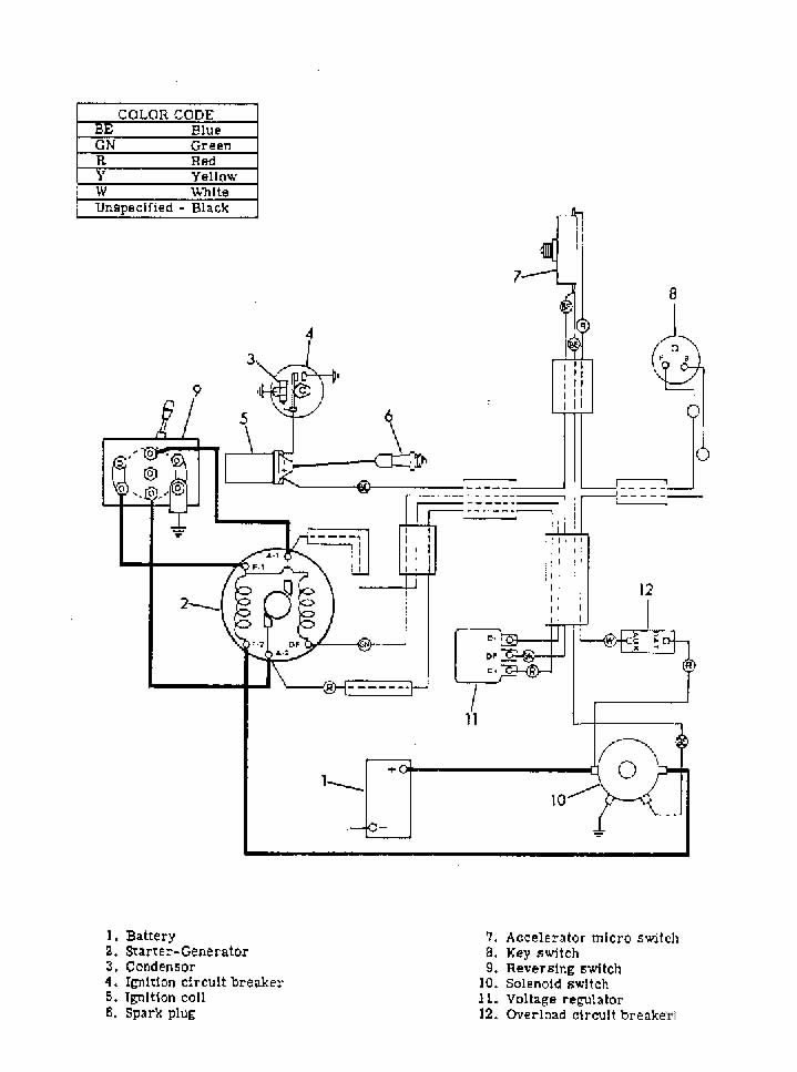 1987 Ezgo Wiring Diagram