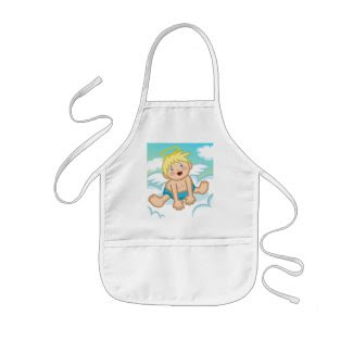 Cheery Baby Boy: Angel Apron
