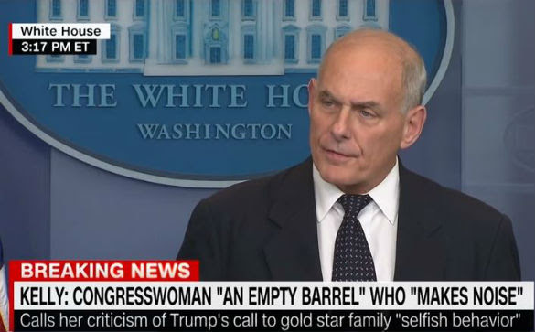 General John Kelly Sold his Soul to the Devil, Diminishing Himself and His Son's Memory