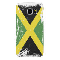 Grunge Jamaica Flag Samsung Galaxy S6 Cases