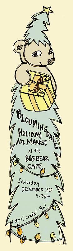 Big Bear Holiday Market Flyer