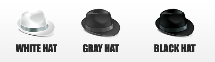white hat black hat and grey hat