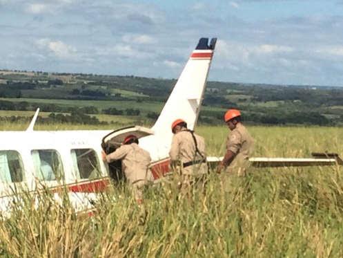 Luciano Huck, Angélica e os filhos são internados após pouso forçado de aeronave