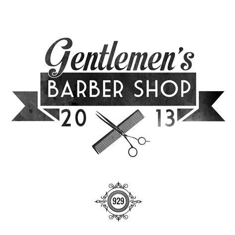 ribbon salon logo barbershop design barber