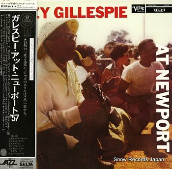 GILLESPIE, DIZZY at newport
