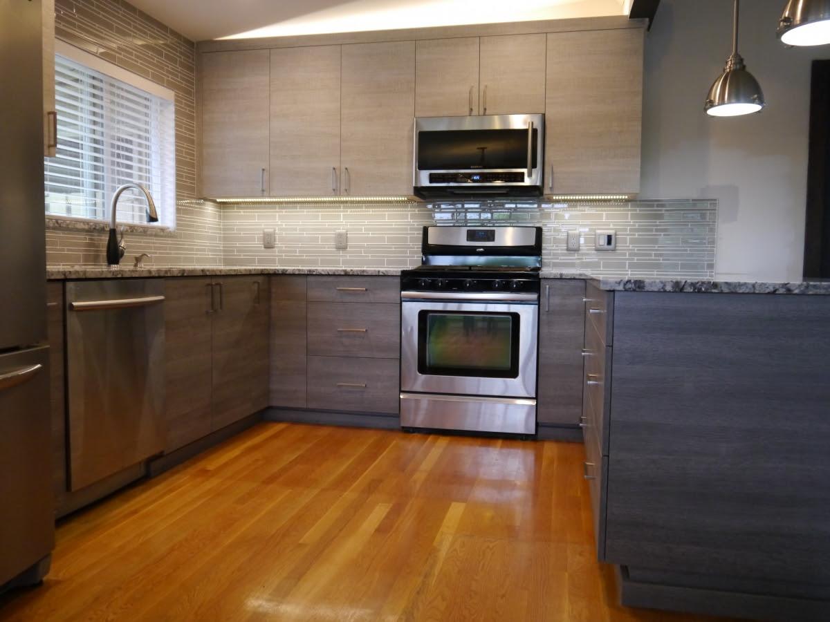 Bellevue Modern 2 Tone Kitchen Remodel