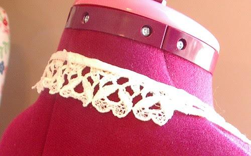 machine  collar vintage