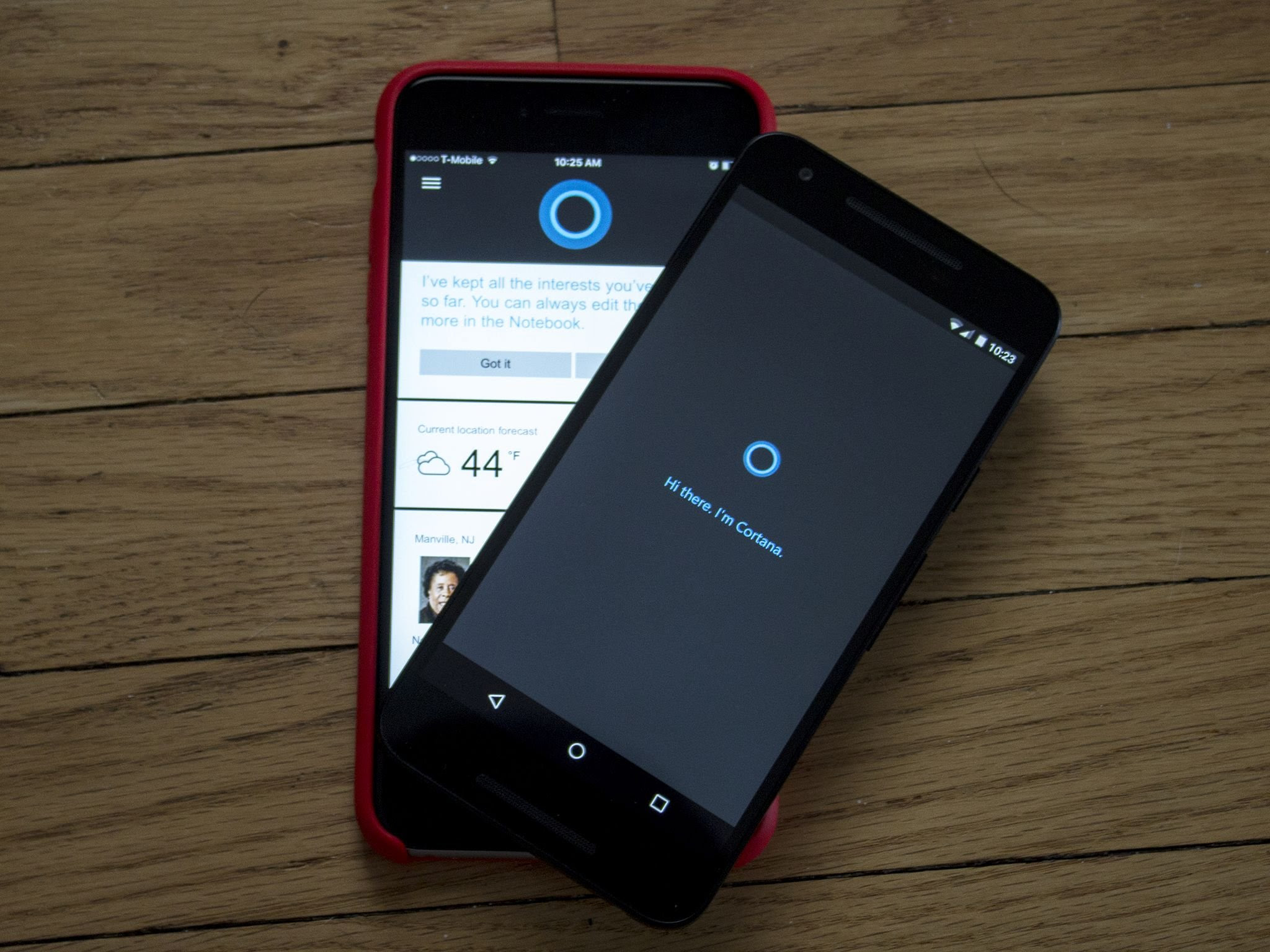 Cortana for iPhone and Android