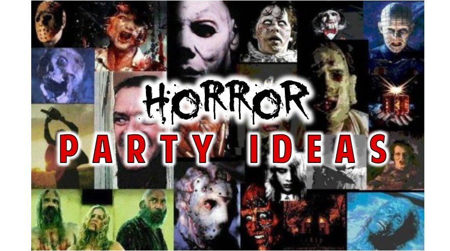 Horror Party Theme Ideas And Scary Games